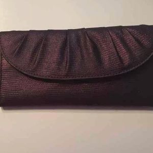 Style & Co. Purple Clutch