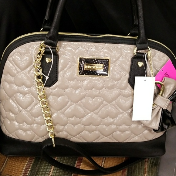 24ab1796e056 Clearance Betsey Johnson patent leather purse