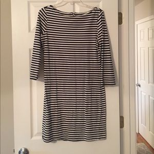 Striped, t-shirt dress