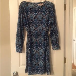 LOFT print dress