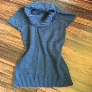 Gray/blue BCBGMAXAZRIA wool sweater