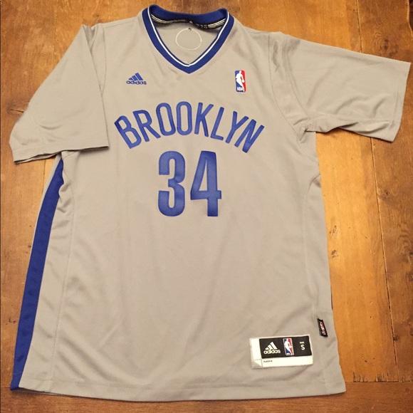 buy popular 052d1 11595 Paul Pierce throwback Brooklyn Dodgers Nets Jersey