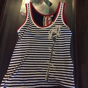 L.a.m.b. Graphic tank top
