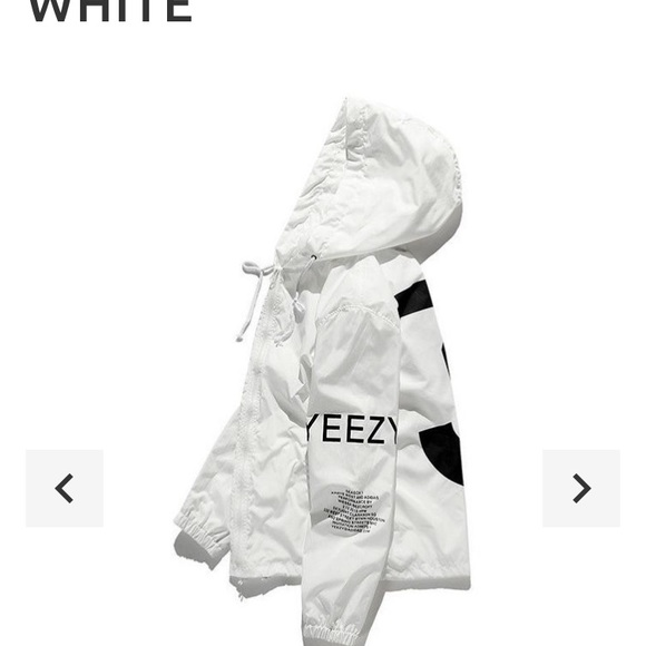 adidas yeezy windbreaker damen