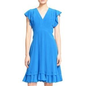 Rebecca Taylor bright blue  A-line NWT