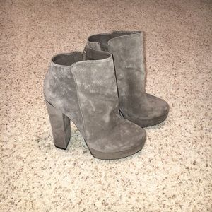 Like new Chinese Laundry fall suede boots