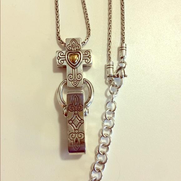 Brighton Jewelry Cross Badge Clip Poshmark
