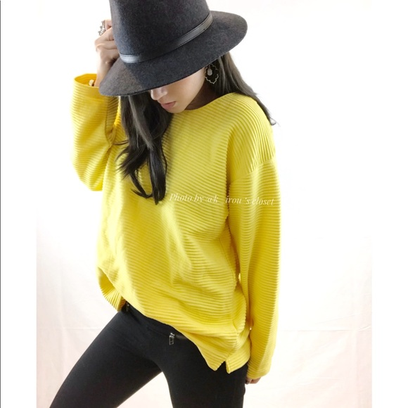 Nordstrom - Vintage Nordstrom yellow ribbed sweater from !'s ...