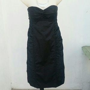 Nanette Lepore black cocktail dress LBD