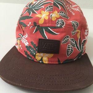 Floral vans cap
