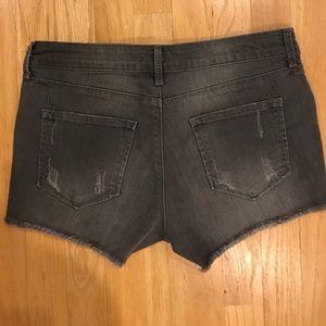 NWOT grey shorts