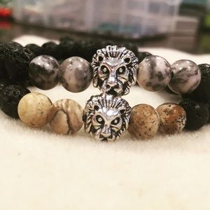 Jewelry - Lava Rock Lion Bracelets🦁 1 for $12 or 2 for $18