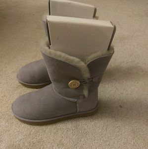 Purple Bailey Button Uggs