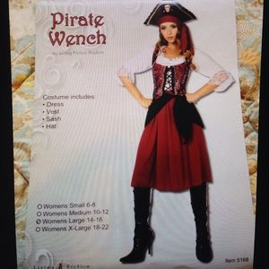 Other - Pirate wench full costume