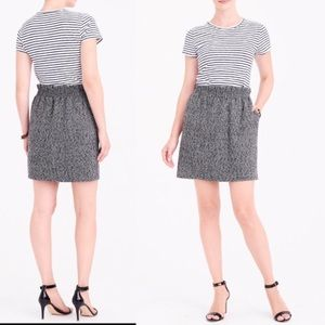J. Crew Herringbone Sidewalk Mini Skirt