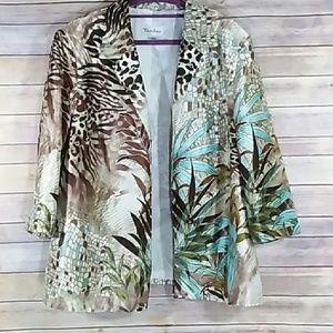 TanJay Leopard Print Jacket