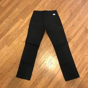 Active Black Chinos Size 30