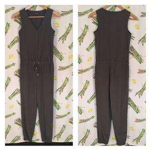 Express Pantsuit JumpSuit Army Green Size XS
