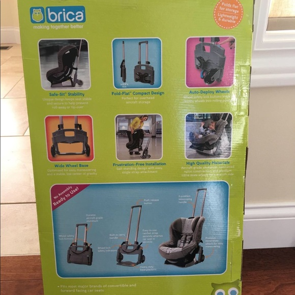 Brica Car Seat Transporter