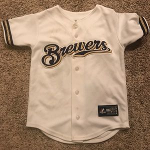 Boys Brewers jersey