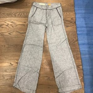 Linen pants from Anthropologie. Size 0
