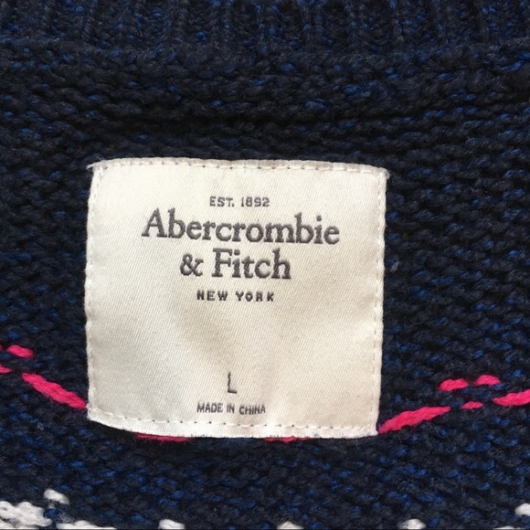 80% off Abercrombie & Fitch Sweaters - Abercrombie cropped Fair ...