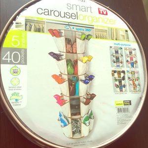 Smart Carousel Shoe Organizer (NEW, Never Opened)