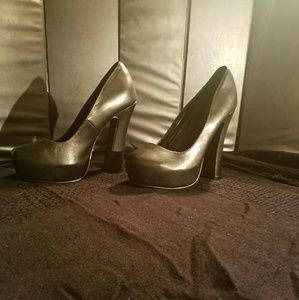 N.Y.L.A. Black Heels