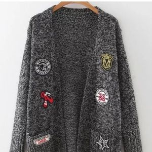 Sweaters - Knit cardigan long size S/M brand new