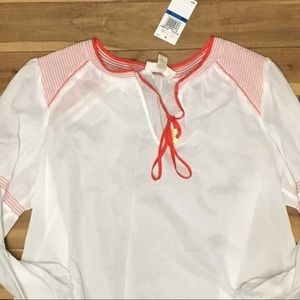 Michael Kors long sleeve top with cute stitching