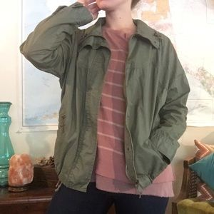 Army Green Casual Jacket