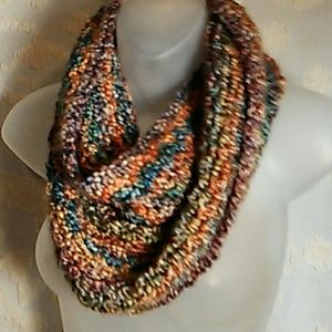 Accessories - Fall colors infinity scarf