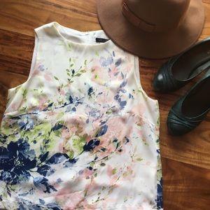 Rose & Olive floral blouse