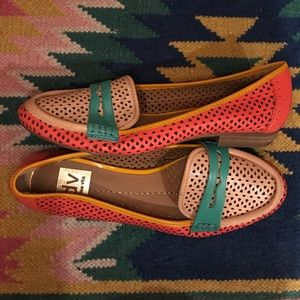 DV by Dolce Vita Perforated Penny Loafers