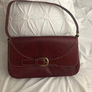 Leather Mila Paoli Red Purse