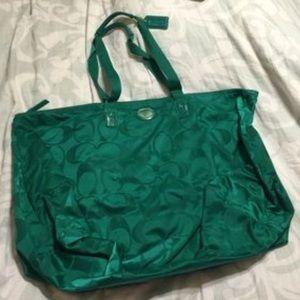 Coach Weekender Duffel Bag