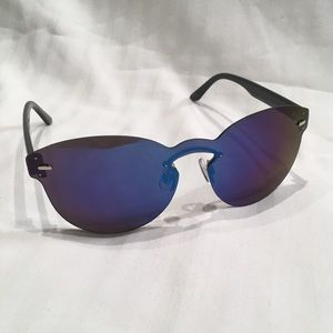 Urban Outfitters Rimless Black Sunglasses
