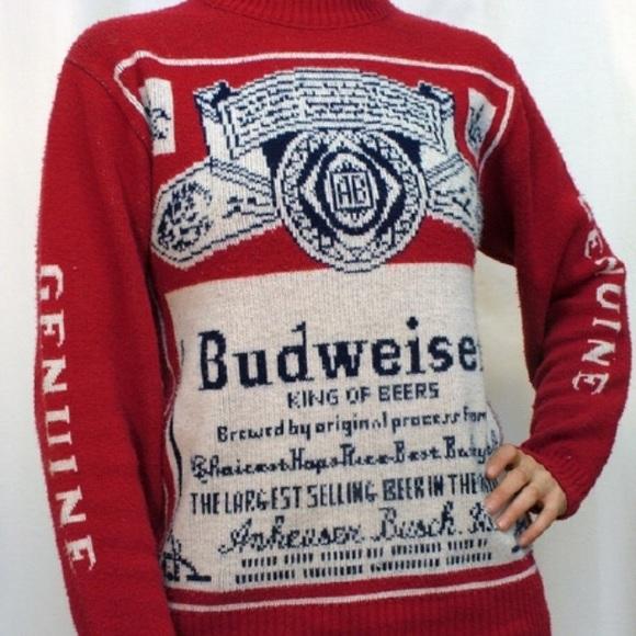 801650939bf Budweiser Other - Genuine Men s Budweiser Sweater Size XL