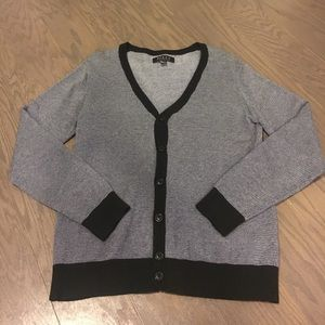 21Men Sweater Patterned Button-up Cardigan
