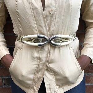 Accessories - Vintage snake belt