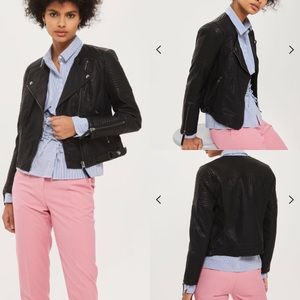 {top shop} like new moto trendy biker jacket
