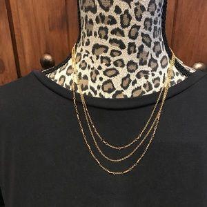 Gorjana 3 strand necklace.