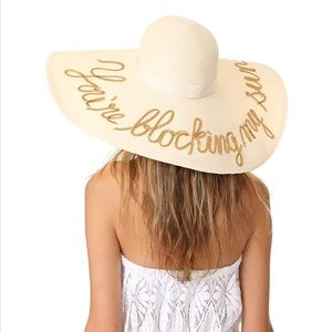 Eugenia Kim You're Blocking My Sun floppy hat