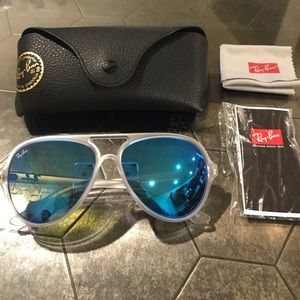 63a70448f Ray-Ban Accessories | Rayban Cats 5000 Sunglasses Rb 412564617 3n ...