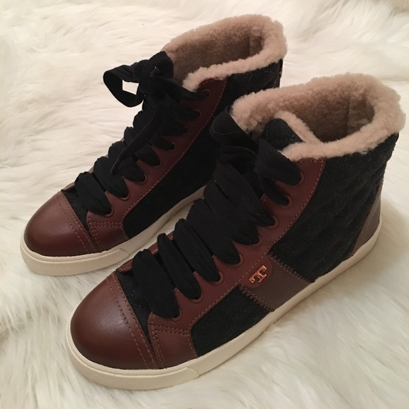 Tory Burch Flannel Low-Top Sneakers cheap genuine sast online genuine cheap online BZASCfa