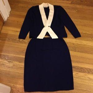 St. John skirt set