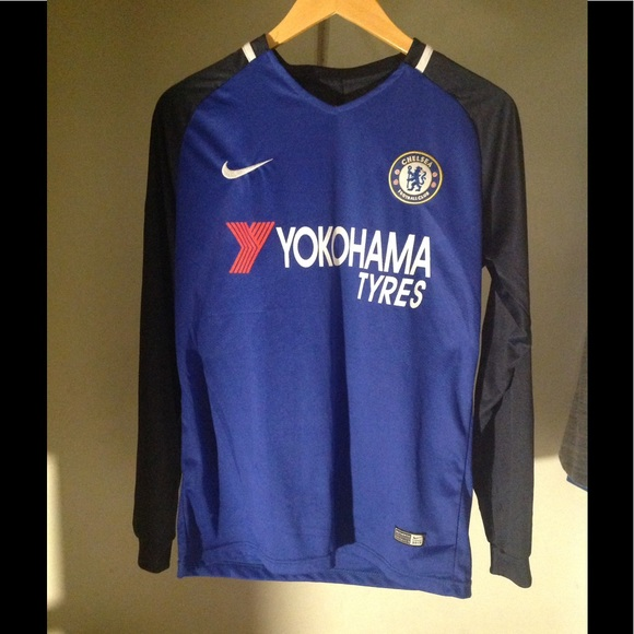 finest selection 4609f b0605 Chelsea home jersey long sleeve