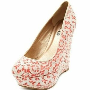 Charlotte Russe Lace Wedge