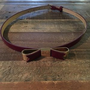 Ted Baker red belt