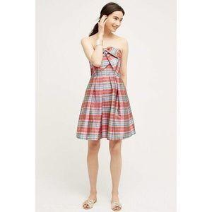 Eva Franco Plaid Dress